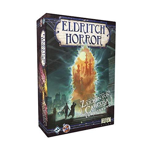 Eldritch Horror - Zeichen von Carcosa - Erweiterung Brettspiel | DEUTSCH | Lovecraft Horror
