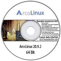 ArcoLinux v20.7.5 (64Bit) - Bootable Linux Installation DVD