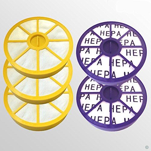 3 Pre Filtre Moteur et 2 Post Moteur Allergy Hepa Kit filtre pour Dyson DC05 DC08 Aspirateur