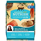 Rachael Ray Nutrish Premium Natural Dry Cat Food, Real Salmon & Brown Rice Recipe, 14 Pounds (Packaging May Vary)
