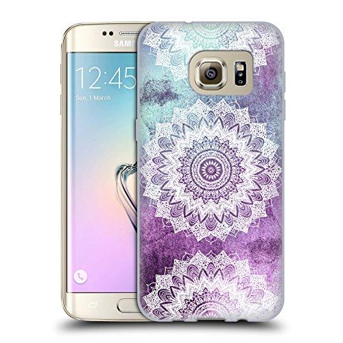 Head Case Designs Licenza Ufficiale Nika Martinez Boho Chic Mandala Cover in Morbido Gel Compatibile con Samsung Galaxy S7 Edge