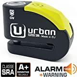 Urban Security UR10 Antivol Moto Homologué SRA Bloque Disque Alarme 120 DB Warning...