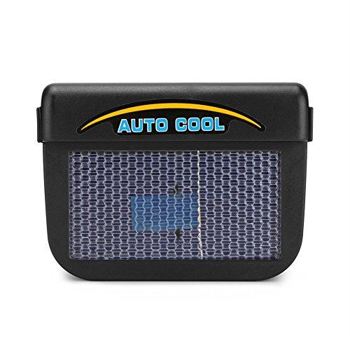 Unbekannt Solar Betriebene Auto-Auto-Fenster Auto Air Vent Ventilation Fan Air Vent Kühler Konditionierung Mit Gummi-Band-Lüftungsanlage