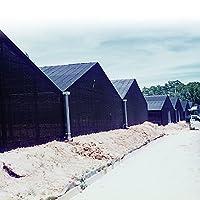 国華園 寒冷紗・黒 1.35m×30m 1巻 防霜 保温 防虫 遮光 防風 園芸 家庭菜園