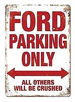 Ford Parking Only ティンサイン ポスター ン サイン プレート ブリキ看板 ホーム バーために