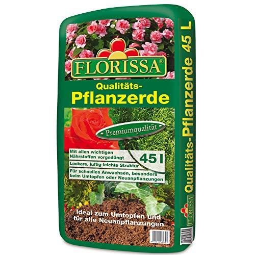 Florissa Pflanzerde (45 l), Braun