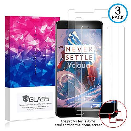 Ycloud [3 Pack] Protector de Pantalla para OnePlus 3 / OnePlus 3T,[9H...