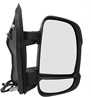Akozon Car Rearview Mirror Wing Mirror Replacement Accessory Fit for Citroen Relay 2006+ Right