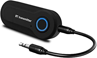Bluetooth Audio Transmitter Wireless Audio Adapter Stereo Music Stream Transmitter for TV DVD Player PC MP3