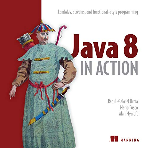 Java 8 in Action audiobook cover art