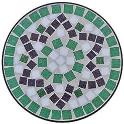 gartentisch mosaik