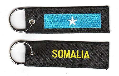 Schlüsselanhänger Somalia Anhänger Fahne Flagge NEU