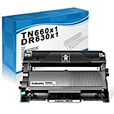 Galada Compatible Toner Cartridge and Drum Unit Replacement for Brother TN660 TN630 DR630 DR-630 TN-660 TN-630 (1Toner Cartridge + 1 Drum Unit Combo Pack)