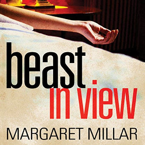 Beast in View audiobook cover art
