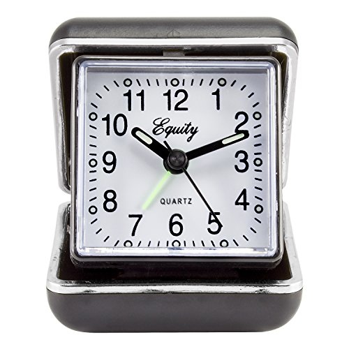 Equity by La Crosse 20080 Folding Travel Quartz Alarm Clock