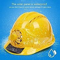 溶接帽子、保護ヘッドツール便利な安全ファンハット通気性のある建設キャップ溶接の作業に安全