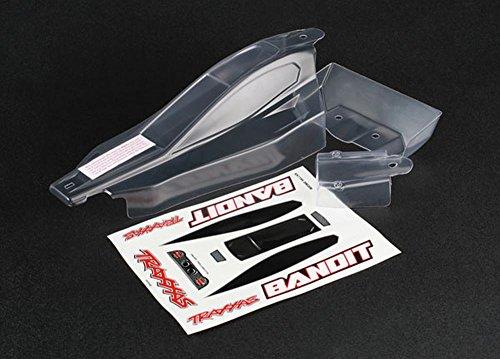 Traxxas 6.139,2cm Bandit Dekorbogen Body Modell Kfz-Teile, Transparent