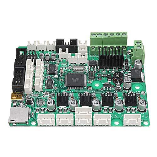 JIAGU Placa Base integrada de Impresora 3D Panel de la Impresora CR-10S 12V 3D Mainboard Control V2.1 apoyar la detección de filamentos 3D Impresora Placa Madre (Color : Green, Size : One Size)