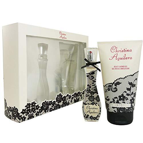 Christina Aguilera Signature Eau De Parfum Spray And Shower Gel