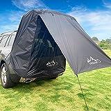 Vogvigo Tente de hayon de Voiture Protection Solairetente de Coffre de Voiture Canopée Portable Abri de Plage de Neige et de Pluie Tente de Camping familiale pour SUV, hayon, monospace
