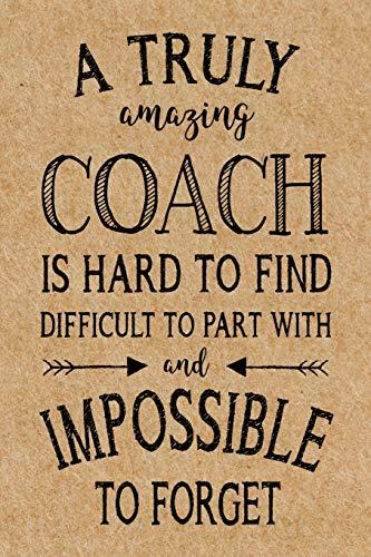 A Truly Amazing Coach