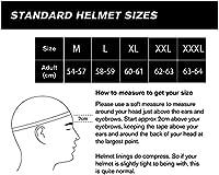 ブルートゥース付きフリップモジュラーフルフェイスヘルメット、DOT/ECE承認モトクロスモトクロスモーターサイクルモトクロスレーシングヘルメット大人の男性と女性のための B,M=54~57CM