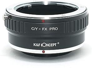 [正規代理店]K&F コンタックス ヤシカC/Y-フジX FX マウントアダプター PRO レンズクロス付 cy-fx-pro (KFFXPRO)