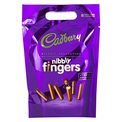 Cadbury | Nibbly Fingers | Kekse mit Schokolade überzogen | 320g