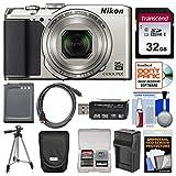 Nikon Coolpix A900 4K Wi-Fi Digital Camera (Silver)