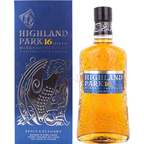 Highland Park Highland Park 16 Years Old WINGS OF THE EAGLE Single Malt Scotch Whisky 44,5% Vol. 0,7l in Giftbox - 700 ml