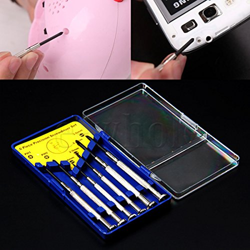 Juweliers Horloge Laptop Mobiele Bril Reparatie Kit Precisie Schroevendraaier Set HG530