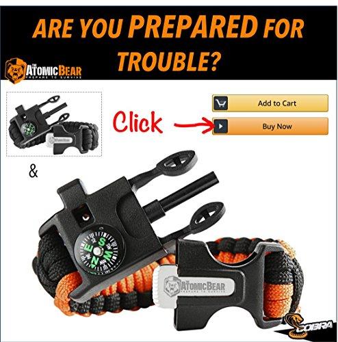 Atomic Bear Paracord Bracelet