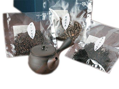常滑焼 急須 0-269 中国茶バラエティーセット 中国茶ギフト 日本製 箱入り T1801