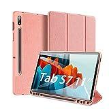 DUX DUCIS Funda para Samsung Galaxy Tab S7 11 Inch (T870/T875) 2020, Carcasa Folio Ligera...
