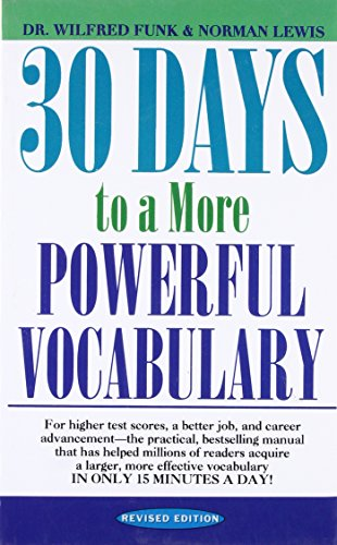 30 Days to a More Powerful Vocabulary [Paperback] [Jan 01, 2012] Funk