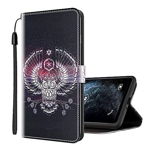 Sinyunron Cover per Wiko Wim Lite Custodia Libro Portafoglio Flip Cover Protettiva Chiusura Magnetica Custodie per Cellulare Wallet Case Cover08C
