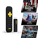 NOW TV Smart Stick con 1 mese di intrattenimento pass, 1 mese Sky Cinema Pass + Sky Sports Day Pass | HD Streaming Media Player – Guarda Disney+, YouTube, Netflix, BBC iPlayer e altro ancora