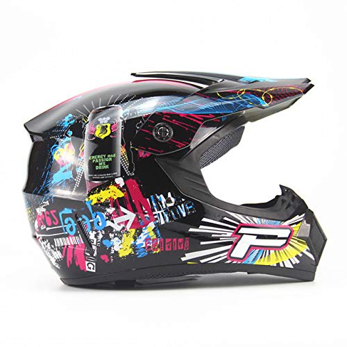 LOLIVEVE Motorhelm Racing Cross Country Helm Cross-Country Helm