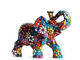 Figura Elefante Flores en Mosaico de la Colección...