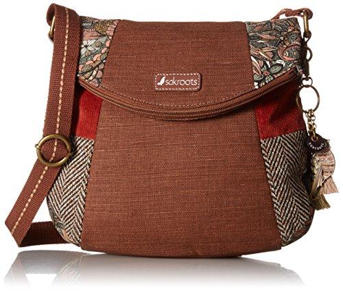 Sakroots Foldover Crossbody Handbag brown Size: One Size