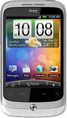 HTC Wildfire S Smartphone Telekom Branding (8,1 cm (3,2 Zoll) Touchscreen, ARM 11, 60MHz, 512MB RAM, 5 Megapixel, Android 2.3)