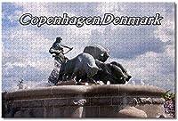 デンマークゲフィオンの噴水コペンハーゲンジグソーパズル大人用子供1000ピース木製パズルゲームギフト用家の装飾特別な旅行のお土産