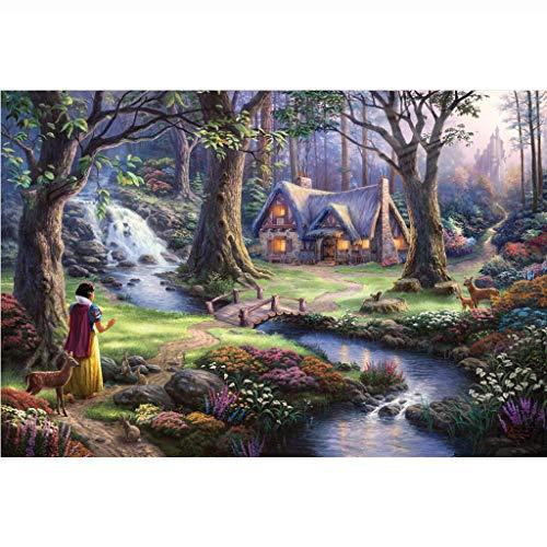 Puzzel Voor Volwassenen, 1000/1500 Houten Puzzels, Olieverfschilderij Prinses Hut, Educatief Speelgoed Voor Volwassen Kinderen Zijn Zeer Goede Educatieve Spellen -4.9 (Size : 1000 pieces)