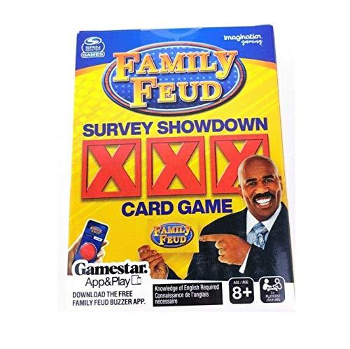 Family Feud Survey Showdown Card Game
