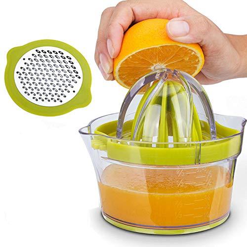 YAVO-EU Exprimidor Zumo Manual, 0.4L Exprimidor Manual de Limón Exprimidor de Cítricos...
