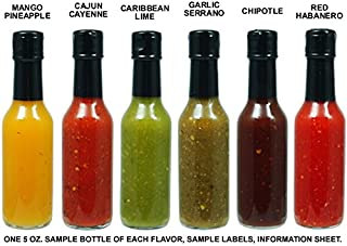 Private Label Hot Sauce - Sample Pack (6 Bottles)