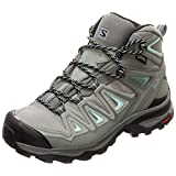 Salomon Women's X Ultra 3 MID GTX W Hiking, Shadow/Castor Gray/Beach Glass, 7