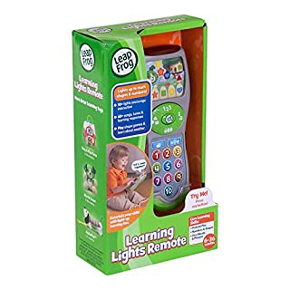 LeapFrog Scout's Learning Lights Remote, Great Gift For Kids, Toddlers, Toy for Boys and Girls, Ages Infant, 1, 2, 3 للبيع