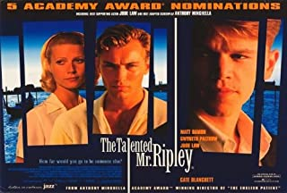 The Talented Mr. Ripley POSTER Movie (30 x 40 Inches - 77cm x 102cm) (1999)