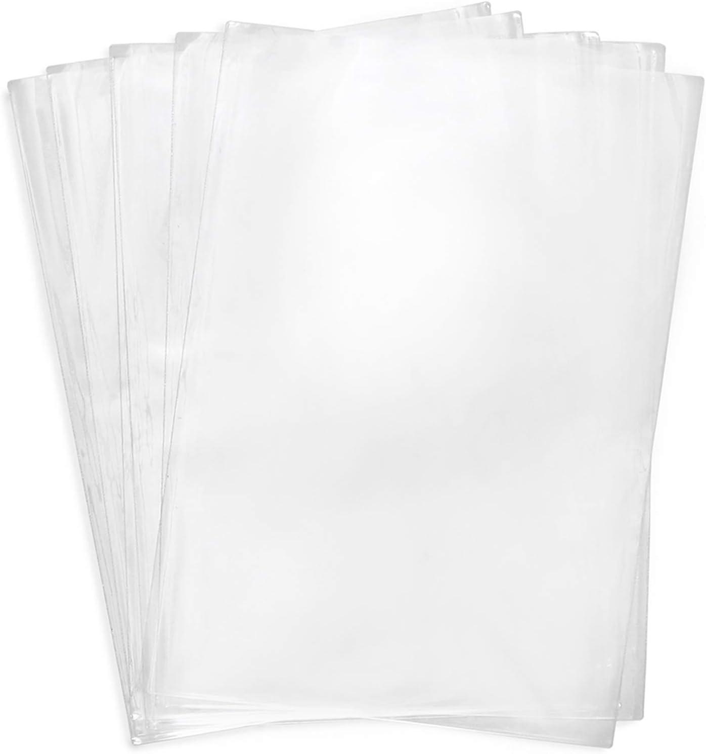 Shrink Wrap Bags,100 Pcs 14x20 Inches Clear PVC Heat Shrink Wrap